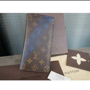 Louis Vuitton Porutofoiyu Brotha Monogram V wallet